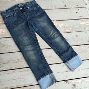 Gap Straight Cuff Jeans size 2